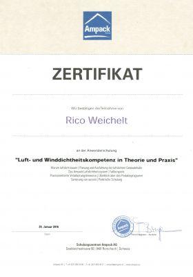 Zertifikat-Ampack